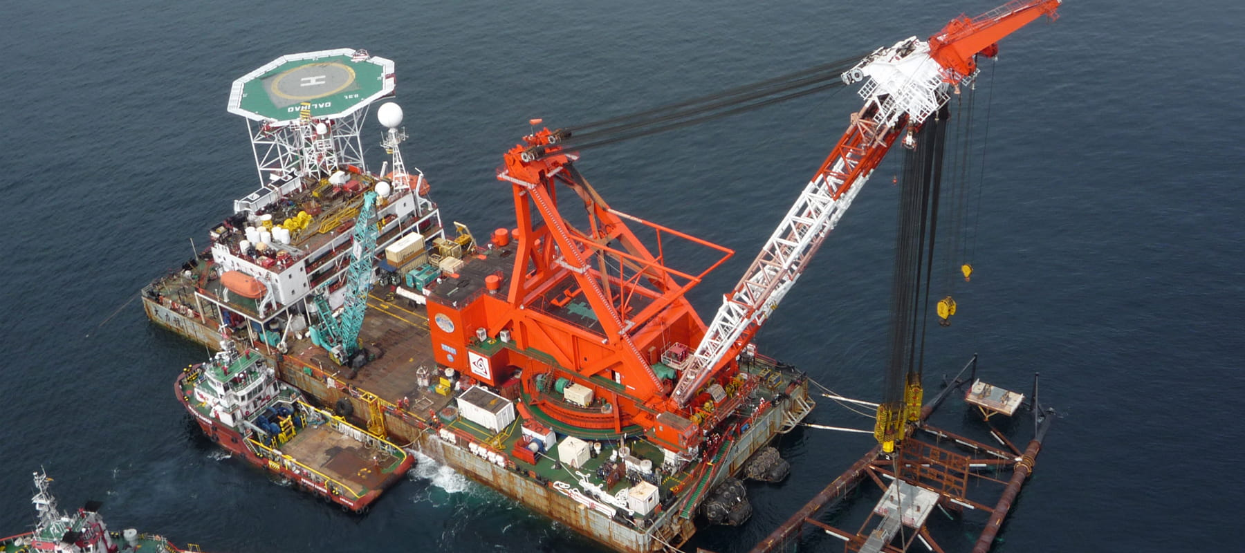 Offshore platform construction