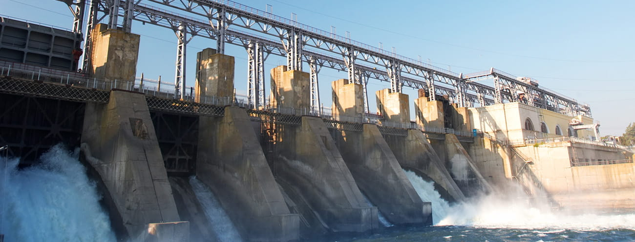 hydro power dam